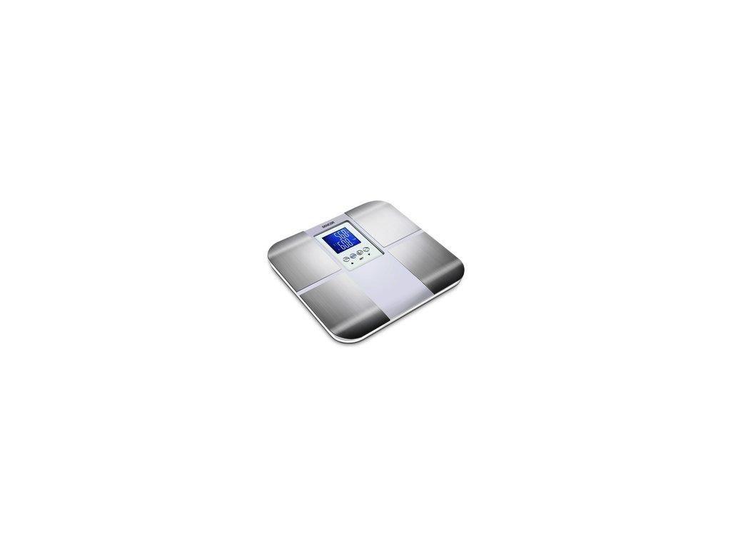 Osobní fitness váha Sencor SBS 6015WH tuk voda svalstvo kosti do 180kg