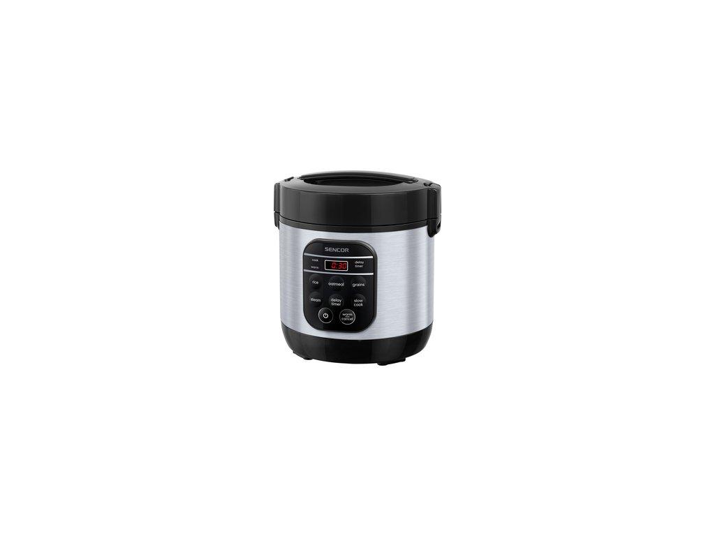 Multifunkční rýžovar Sencor SRM 0650SS 0,6 litru nerez