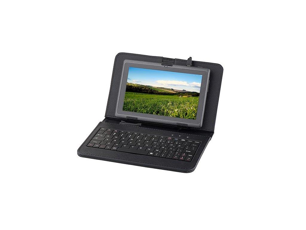 """Klávesnice s pouzdrem pro tablet Sencor, GoClever, iGet, Gogen 7"""" černá"""