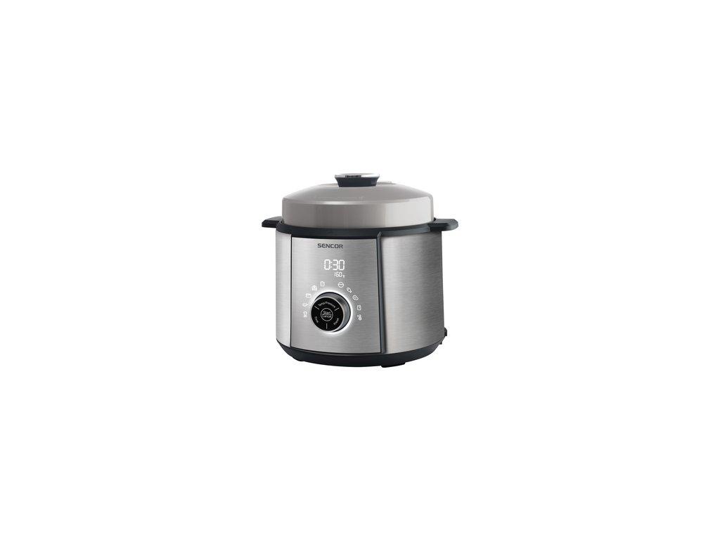 Elektrický tlakový hrnec Sencor SPR 3900SS  + Nerez kuchyňská váha Emos