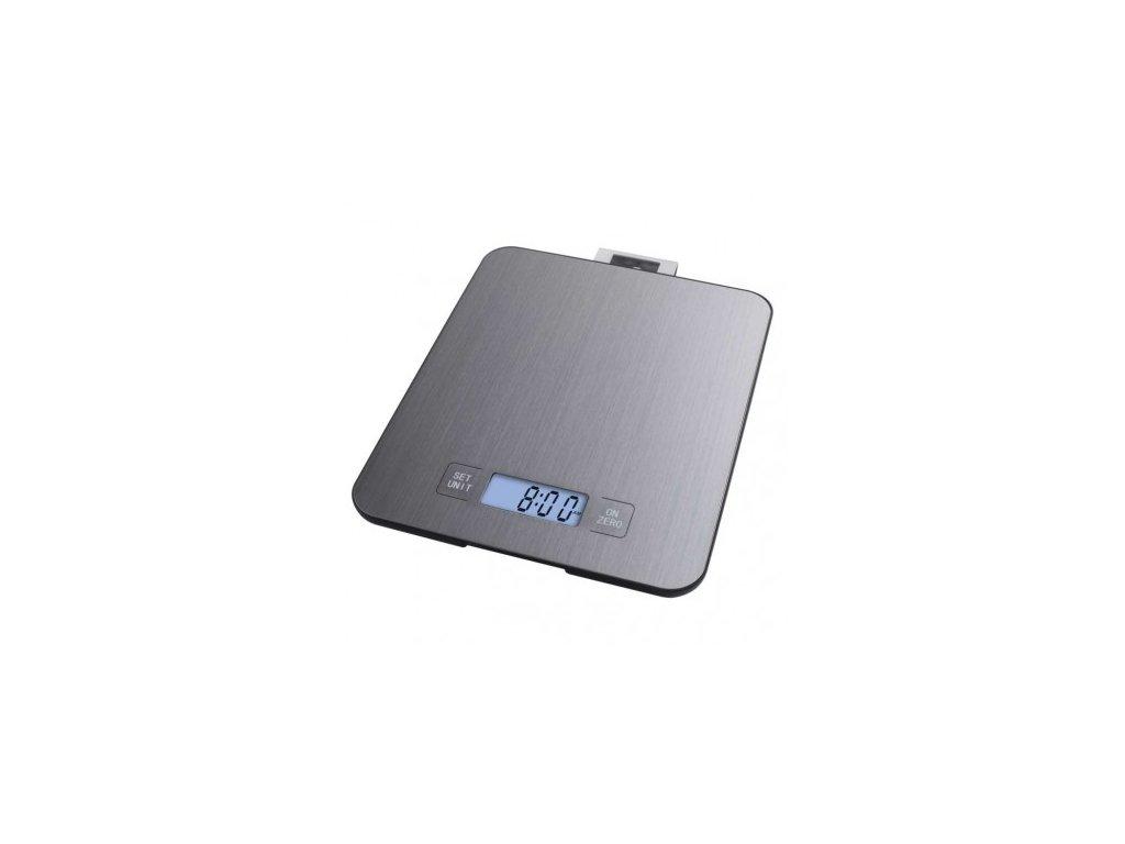 Digitální kuchyňská váha Emos EV023 nerez 15 kg  + baterie ZDARMA