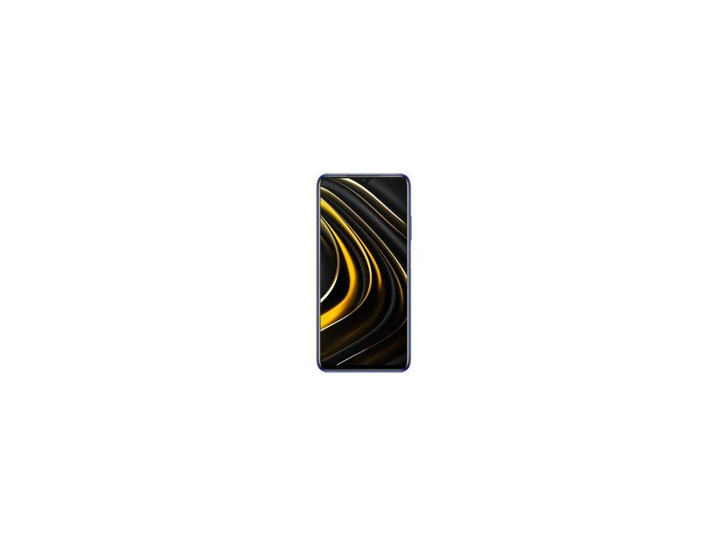 Mobilní telefon Xiaomi POCO M3 4GB/64GB Cool Blue baterie 6000 mAh + silikonový zadní kryt  + SIM karta T-Mobile 200