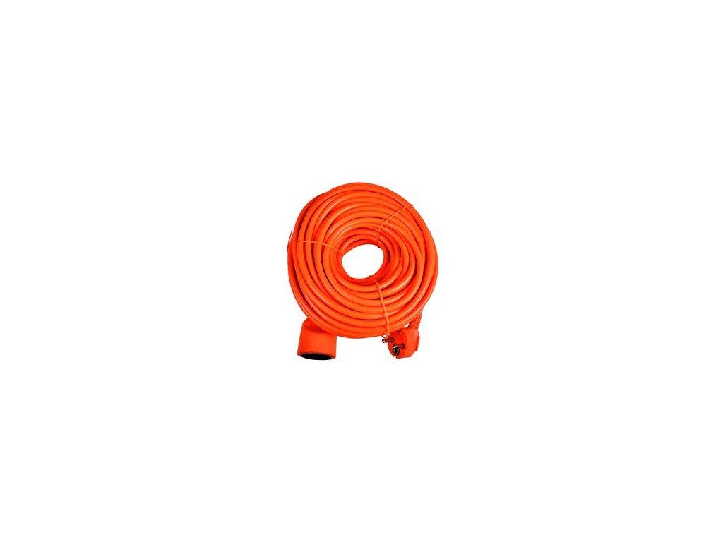 Prodlužka /prodlužovací přívod/ Sencor SPC 46 20m/01 oranžová pro sekačky