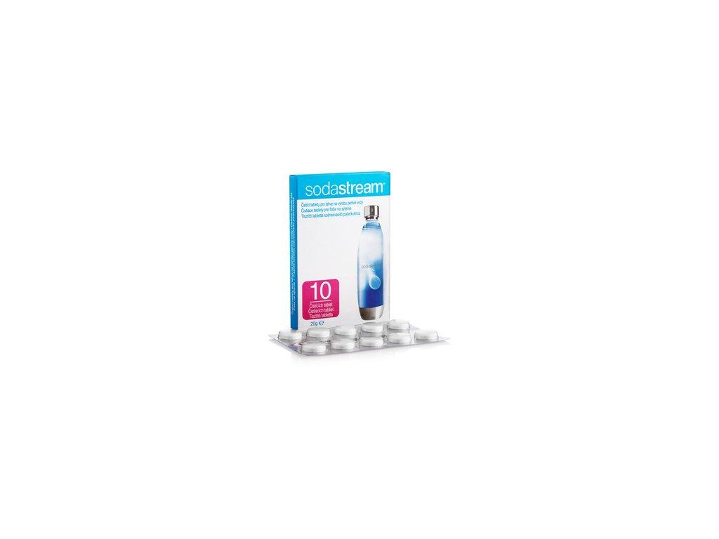 Čistící tablety pro lahve Sodastream