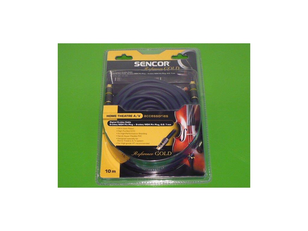 S - video kabel MM 24 kar. Sencor 10m