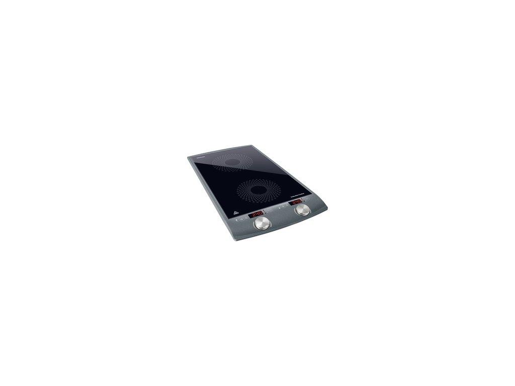 Indukční vařič Sencor SCP 4202GY dvojzónový  DOPRAVA ZDARMA