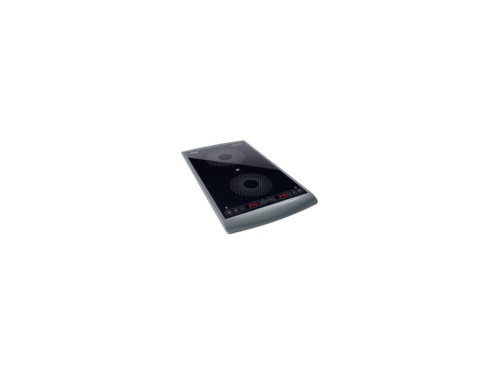 Indukční vařič dvouzónový Sencor SCP 5404GY  DOPRAVA ZDARMA