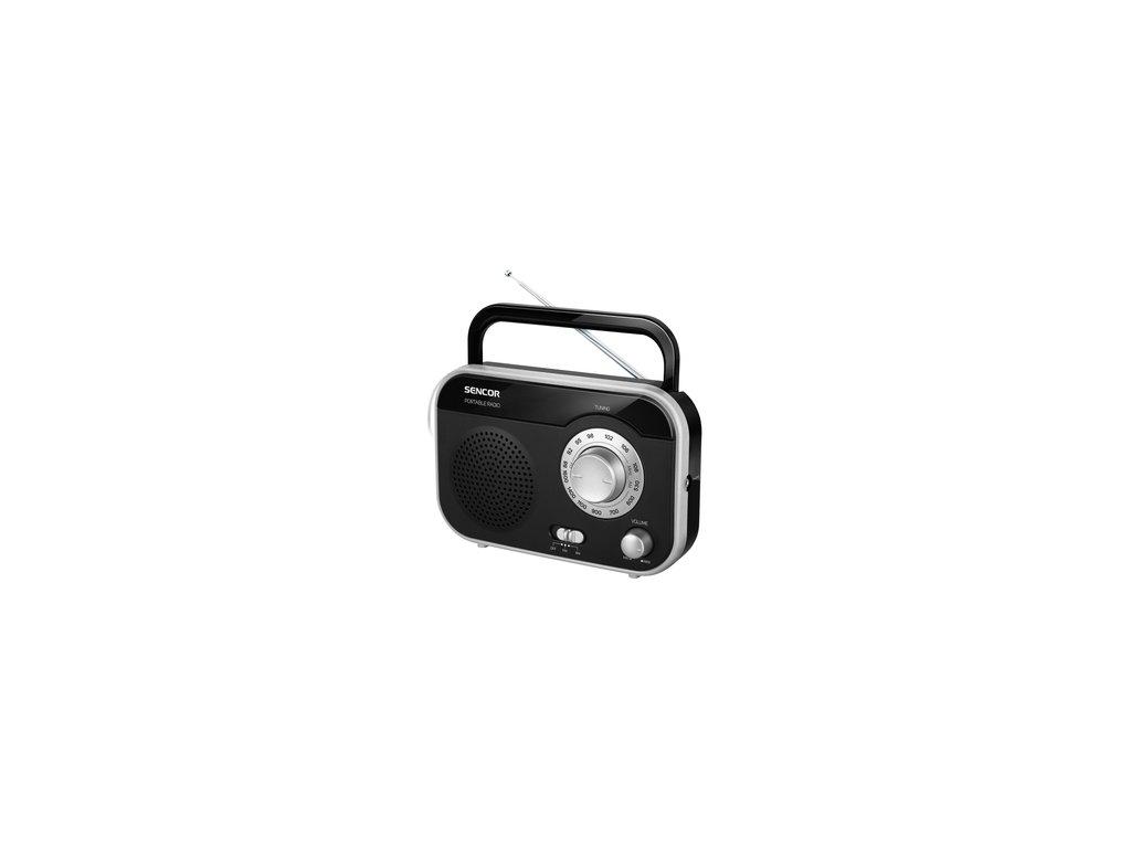 Radiopřijímač Sencor SRD 210 BS stříbrný