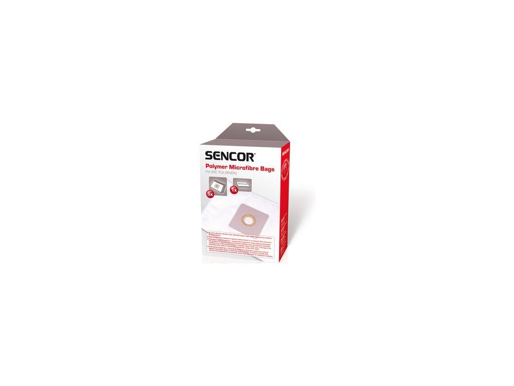 Sáčky do vysavače Sencor SVC 7CA 5ks + 1x mikrofiltr