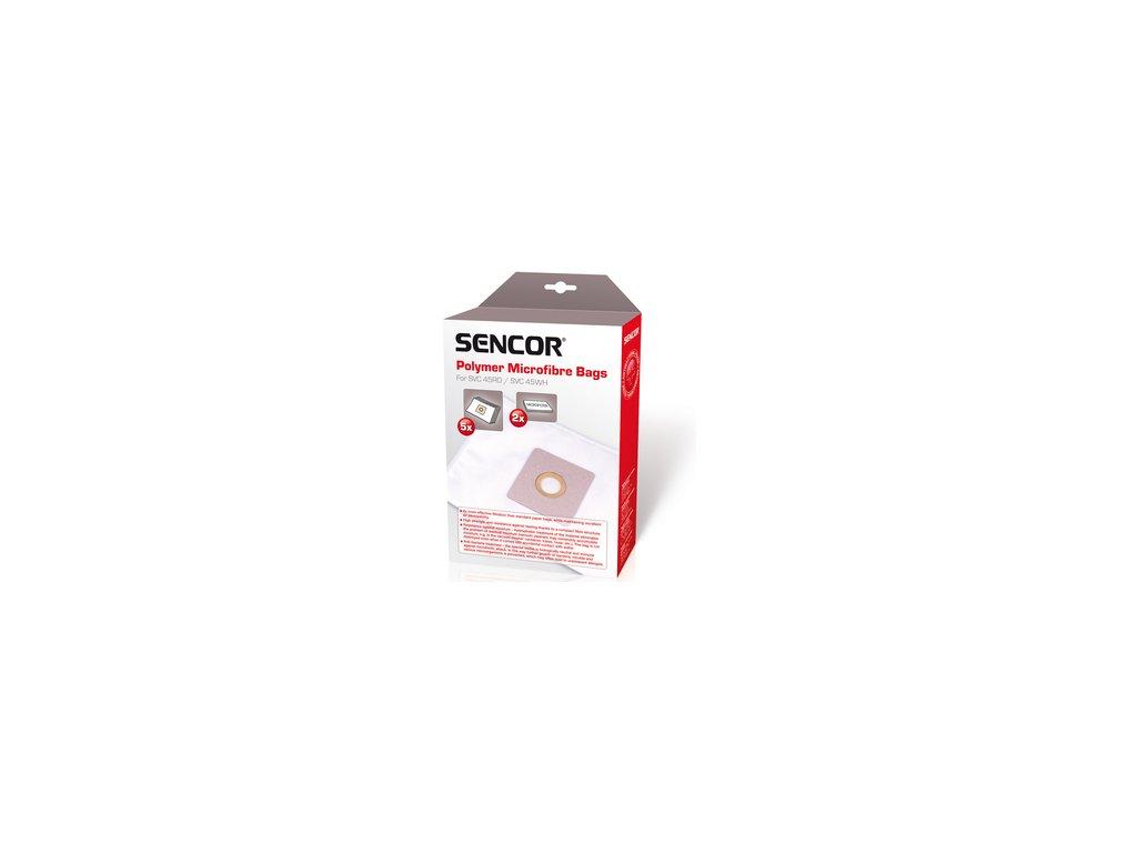 Sáčky do vysavače Sencor SVC 45/52 5ks + 2x mikrofiltr