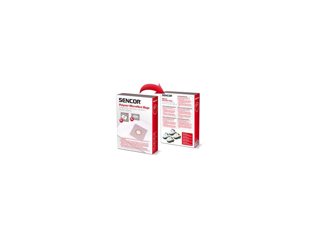 Sáčky do vysavače Sencor SVC 65 5ks + 2x mikrofiltr Boffin