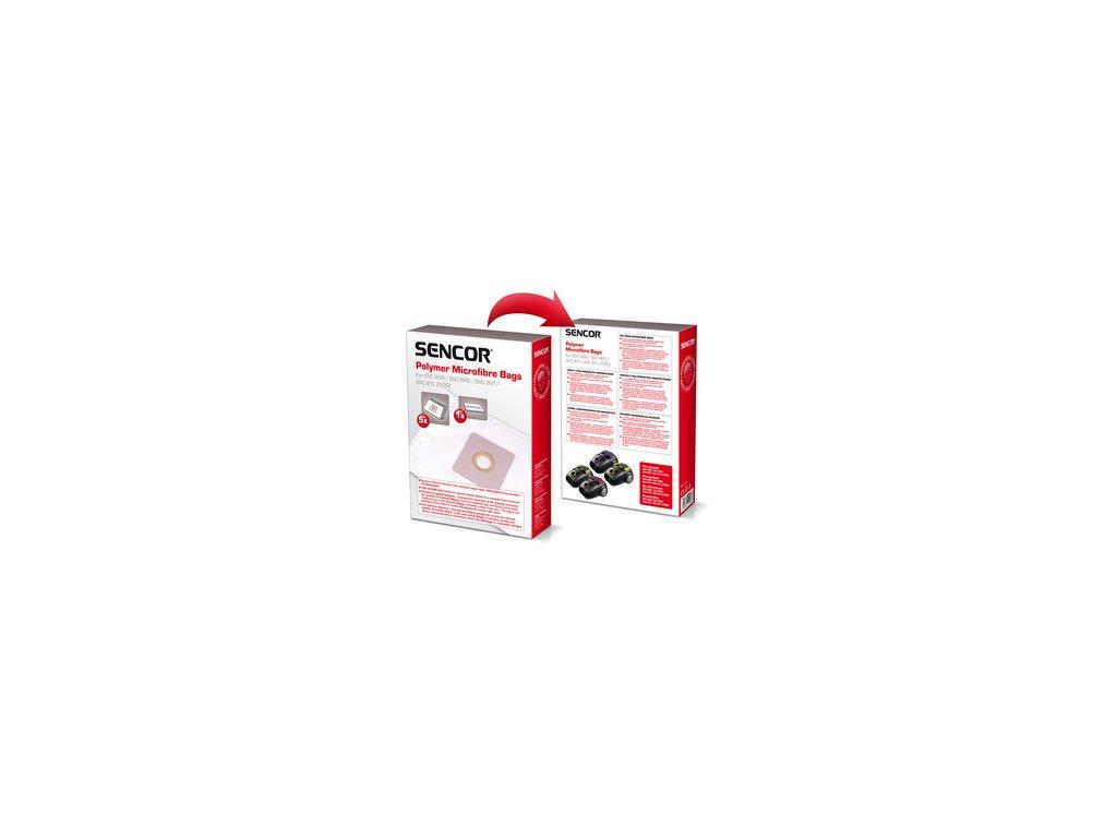 Sáčky do vysavače Sencor SVC 8 Tizio 5ks + 1 mikrofiltr