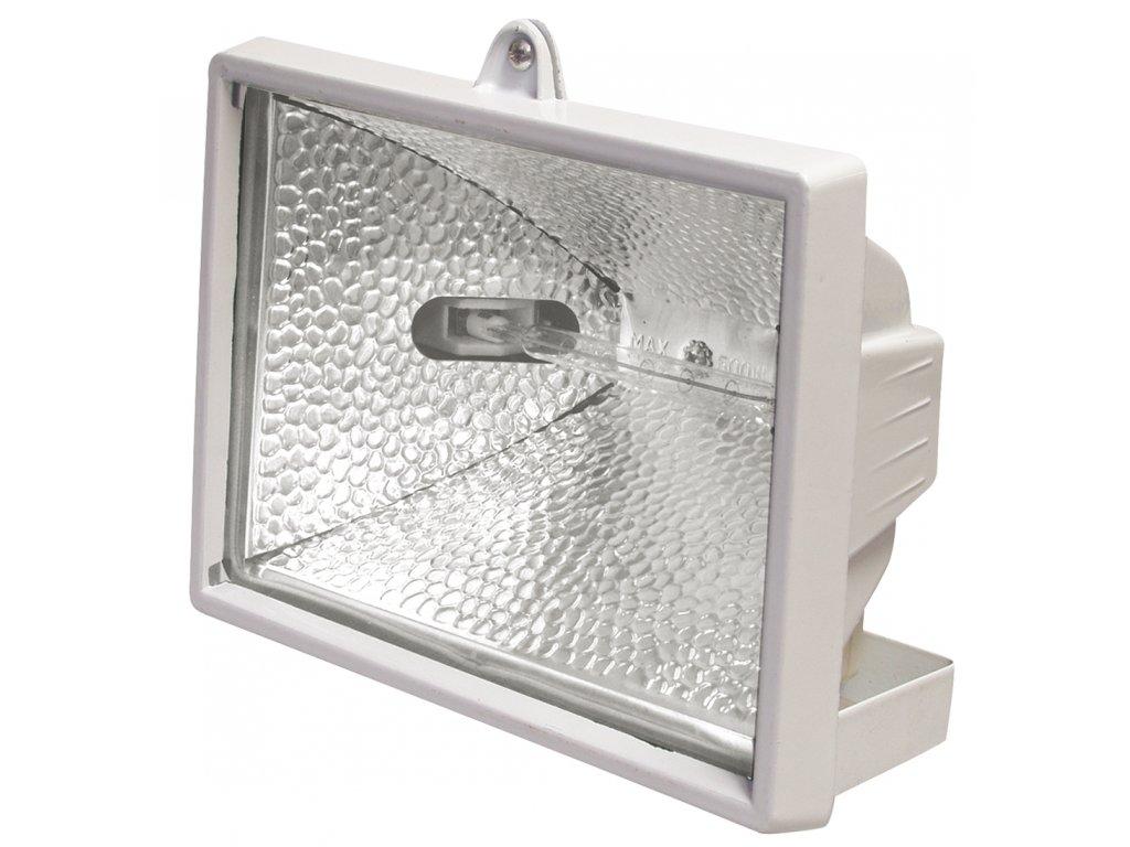 Halogenový reflektor /vana/ 500W bílý