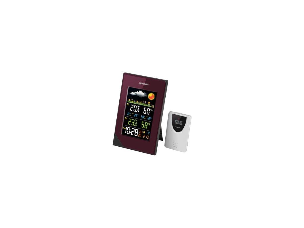 Meteostanice Sencor SWS 280 barevný displej bezdrátové čidlo