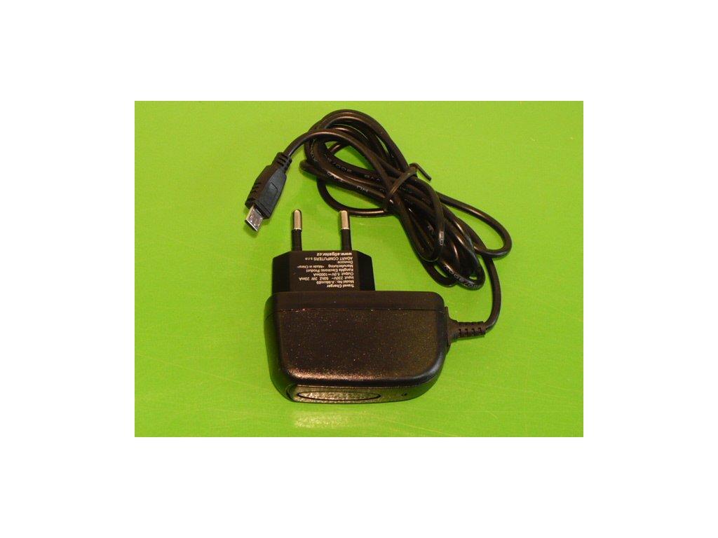 Nabíječka na mobilní telefon mikro /micro/ USB 5V 1A