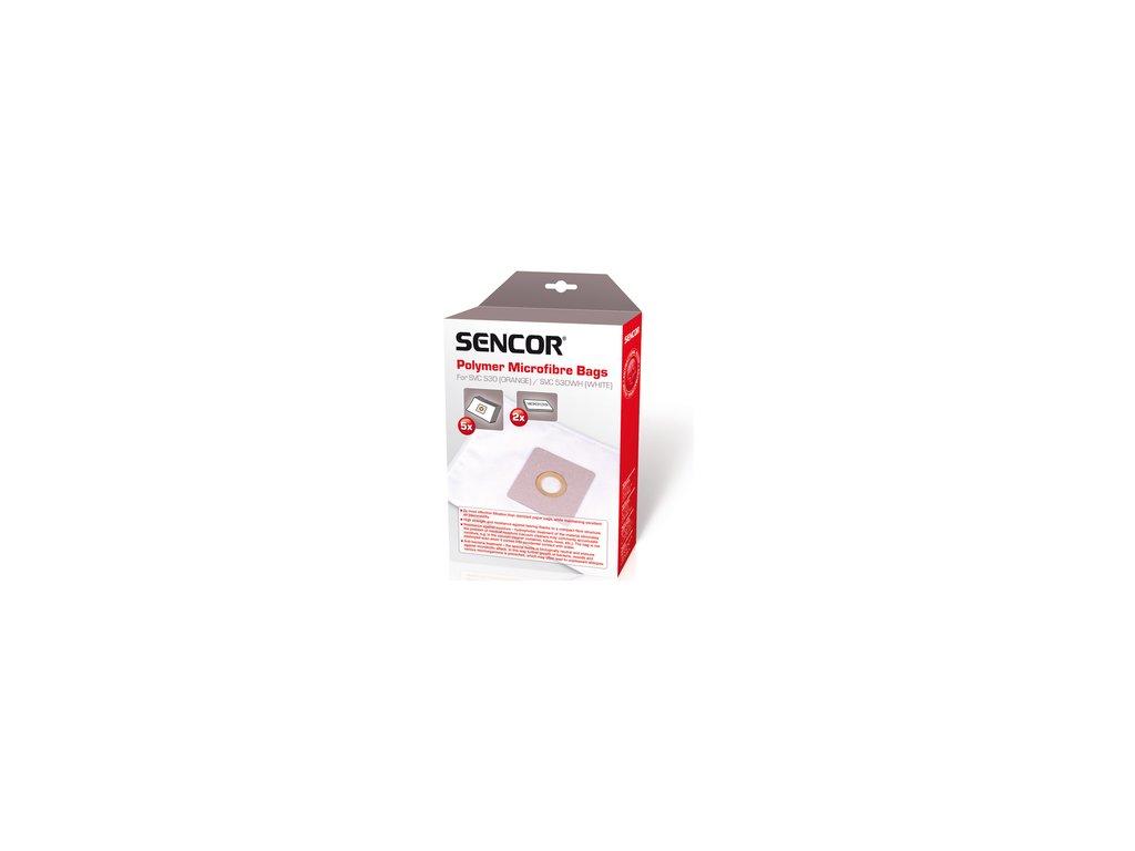 Sáčky /filtry/ do vysavače Sencor SVC 530 5ks + 2x mikrofiltr