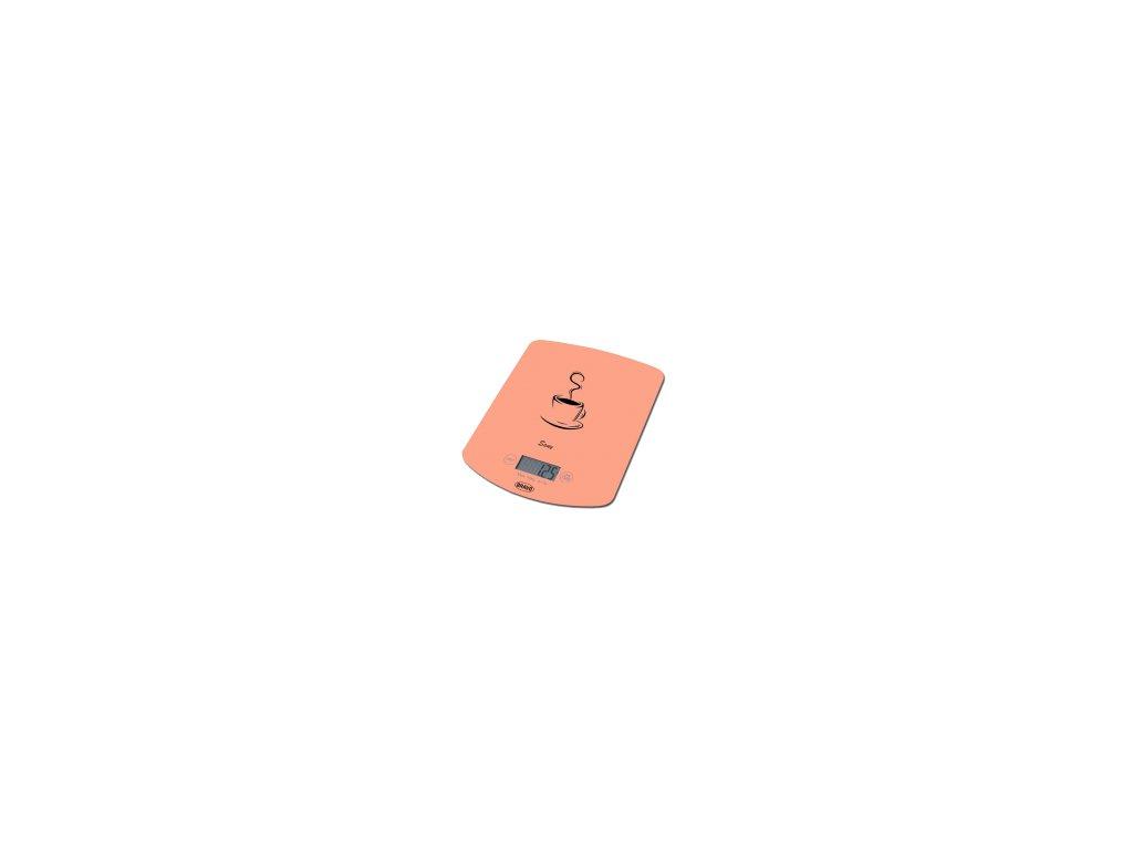 Kuchyňská váha Bravo B-5112 Sany skleněná oranžová 10kg