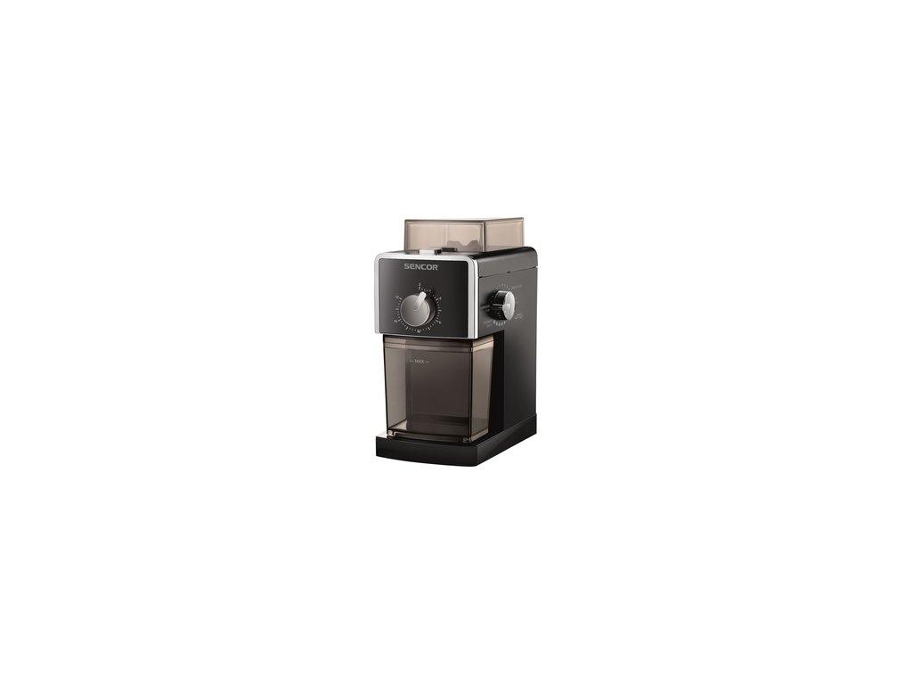 Kávomlýnek Sencor SCG 5050BK s mlecími kameny a regulací hrubosti  DOPRAVA ZDARMA