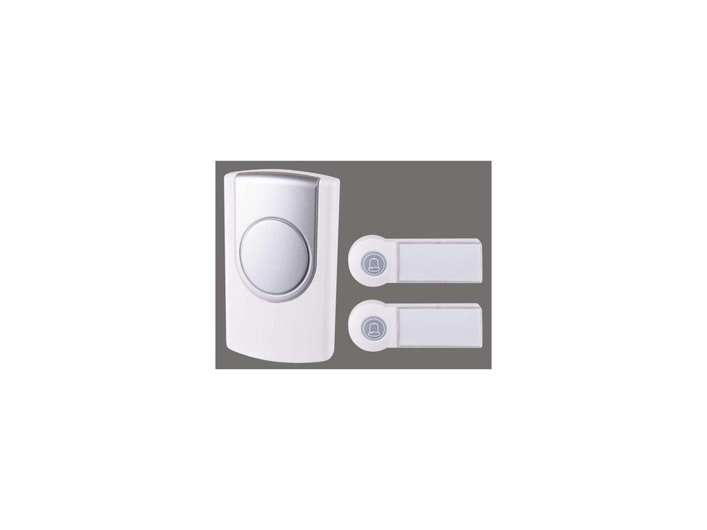 Bezdrátový zvonek Emos P5724 dvě tlačítka