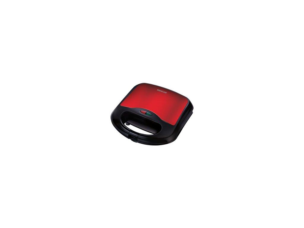 Sendvičovač Sencor SSM 4221RD červený čtverce