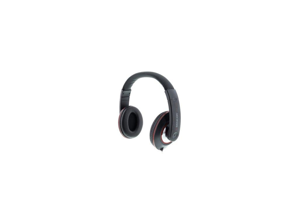 Oblouková sluchátka přes hlavu /mušle/ Sencor SEP 626
