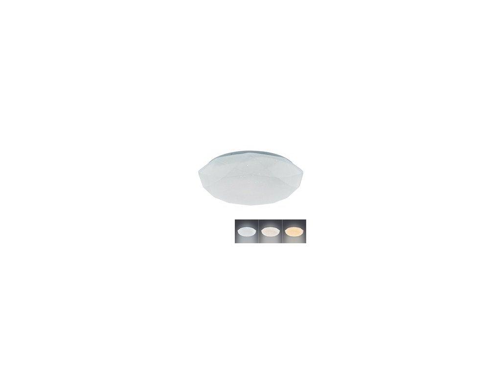 Přisazené kruhové LED světlo na stěnu i strop Solight WO721 s měnitelnou barvou světla 18W