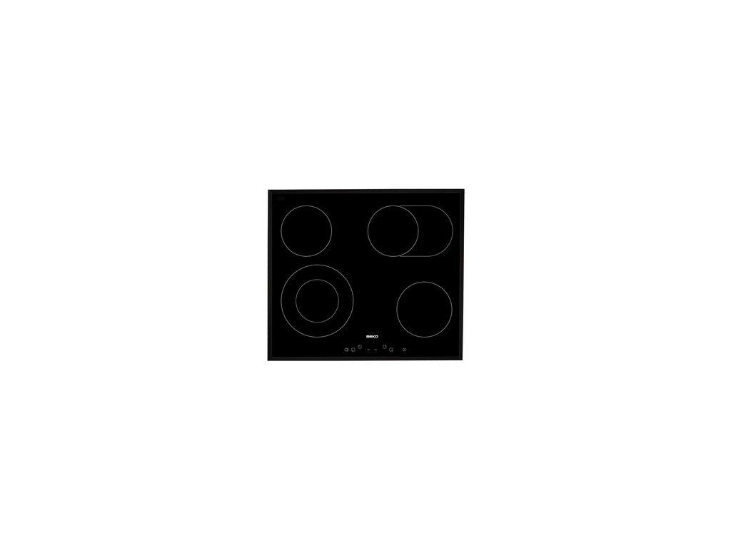 Vestavná varná sklokeramická deska Beko HIC 64403T