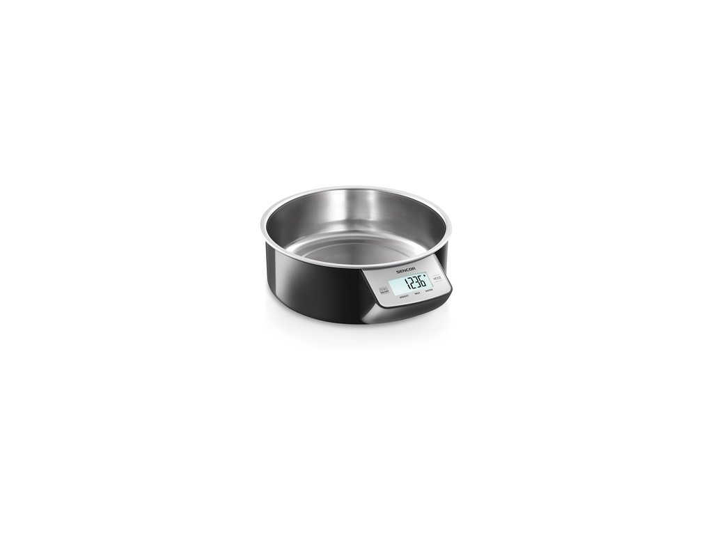 Kuchyňská váha Sencor SKS 4030BK i na tekutiny