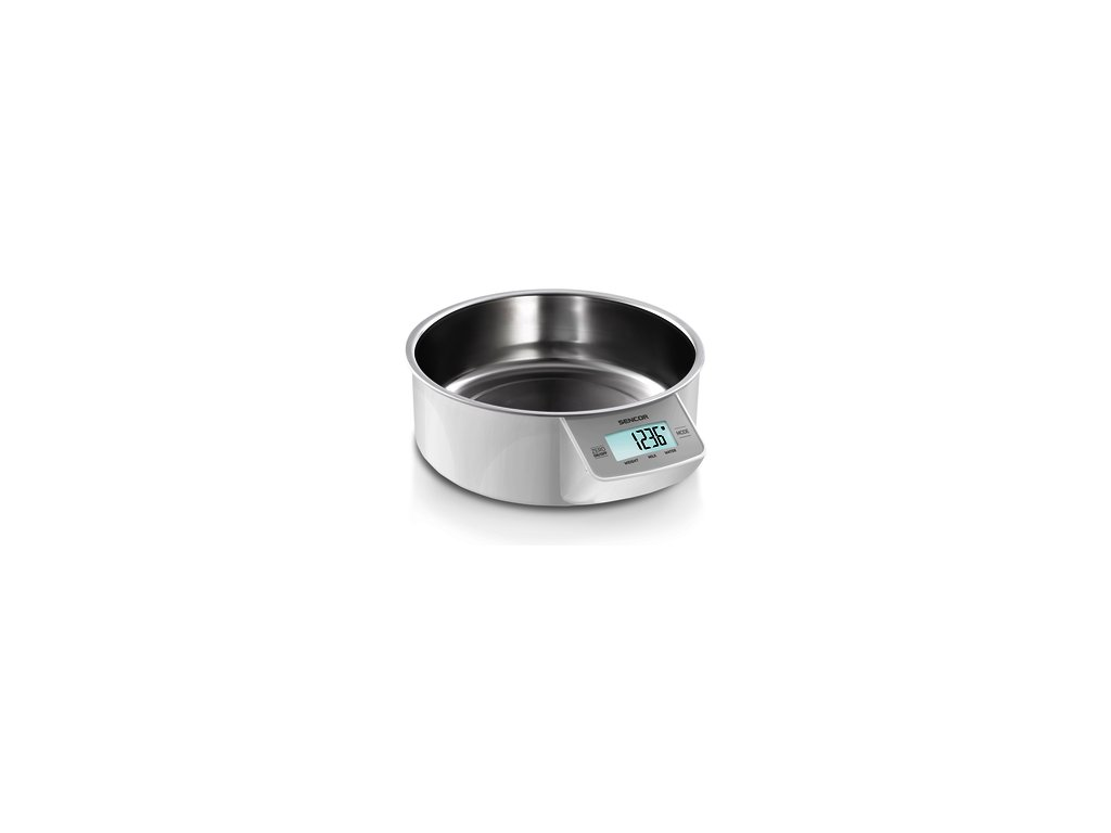 Kuchyňská váha Sencor SKS 4030WH i na tekutiny