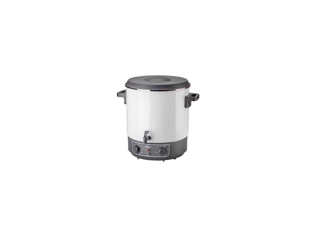 Zavařovací hrnec Sencor SPP 2100WH 27 litrů vypouštění, termostat, časovač