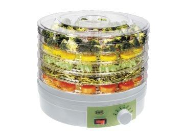 Sušička ovoce Bravo B-4635 Regula s termostatem  DOPRAVA ZDARMA
