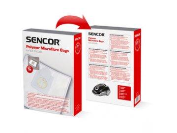 Sáčky /filtry/ do vysavače Sencor SVC 9000BK 9 Nineto 5ks /SVC 90XX/