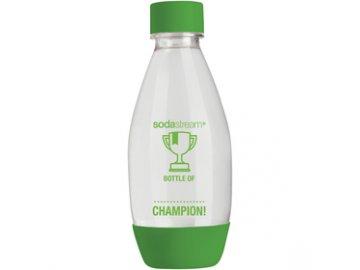 Náhradní plastová láhev k výrobníkům Sodastream 0,5 litru dětská zelená/černá