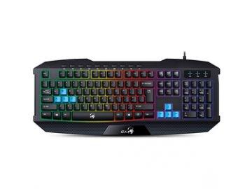 Herní podsvícená klávesnice Genius Scorpion K215