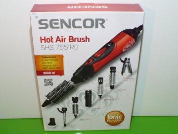 Horkovzdušná kulma Sencor SHS 7551RD červená