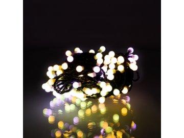 Vánoční řetěz Retlux RXL 322 kuličky 100 LED  10+5m TS PM
