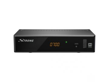 Set Top Box /DVB-T/T2 přijímač/ Strong SRT 8541 H.265 HEVC REC USB