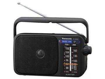 Přenosný radiopřijímač Panasonic RF 2400DEG-K