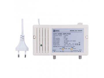 Anténní /domovní/ zesilovač pro širokopásmové a směrové antény Emos EU7035FR /J0337/