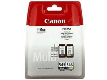 Inkoustová náplň CANON PG-546/CL-546 originál černá a barevná MG2950 2450 2550