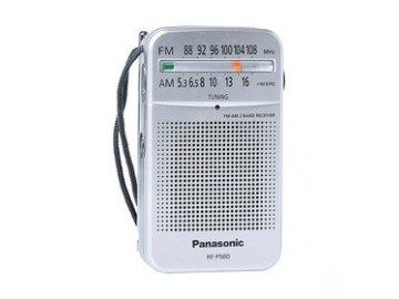 Kapesní rádio Panasonic RF P50DEG-S s kvalitním příjmem