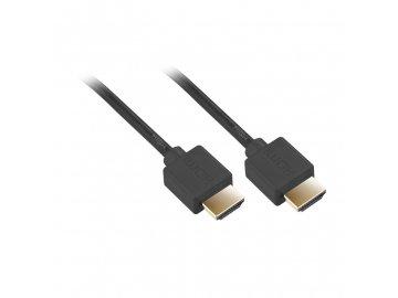 Kabel GoGEN HDMI 1.4 10m pozlacený High speed s ethernetem černý  DOPRAVA ZDARMA