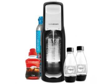 Výrobník domácí perlivé vody Sodastream Jet B&W MegaPack LE sada  DOPRAVA ZDARMA