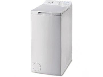 Pračka plněná vrchem Indesit BTW L60300EE/N  A+++ 6kg 1000 ot.