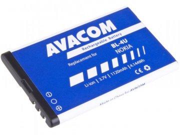Baterie /akumulátor/ Avacom pro Nokia 5530, CK300, E66, 5530, E75, 5730, Li-Ion 1120mAh (náhrada BL-4U)