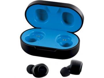 Bezdrátová bluetooth sluchátka /pecky/ Buxton REI-TW 200 BLACK TWS  DOPRAVA ZDARMA