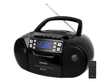 Radiomagnetofon s CD/USB/BT SENCOR SPT 3907 B Bluetooth, kazetová mechanika  DOPRAVA ZDARMA