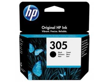 Inkoustová náplň Hewlett Packard HP 305 originál černá