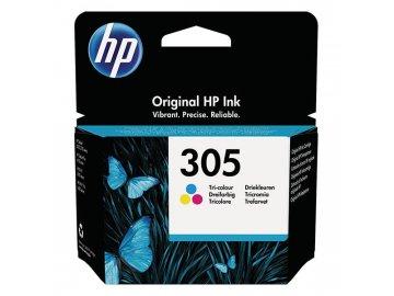 Inkoustová náplň Hewlett Packard HP 305 originál barevná