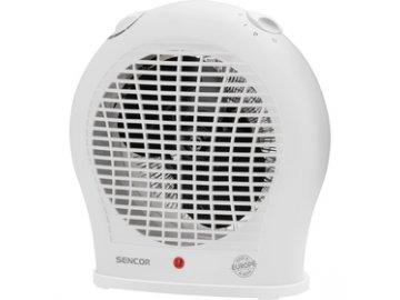Teplovzdušný ventilátor Sencor SFH 7015WH